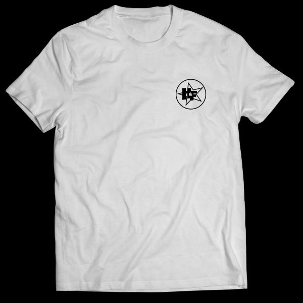Harris & Ford - T-Shirt - Stern-Kreis Logo [weiß]