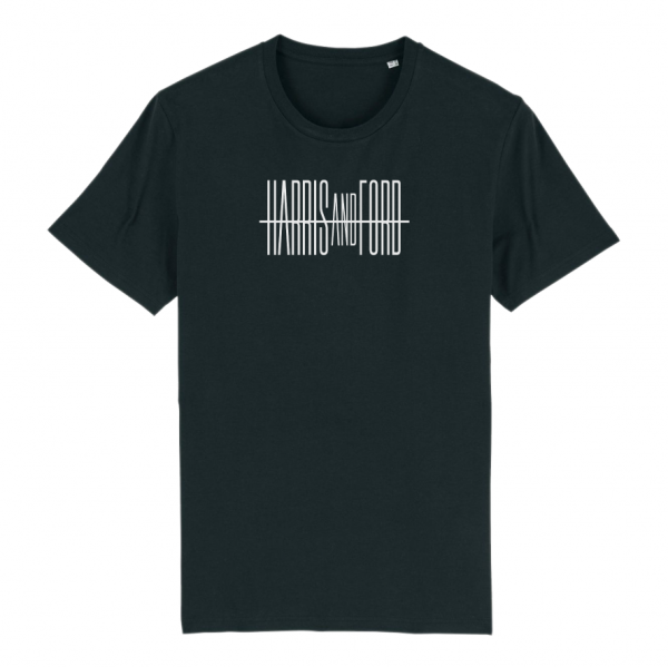 Harris & Ford - T-Shirt Schriftzug [schwarz]
