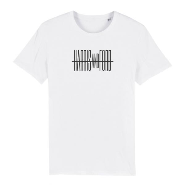 Harris & Ford - T-Shirt Schriftzug [weiß]