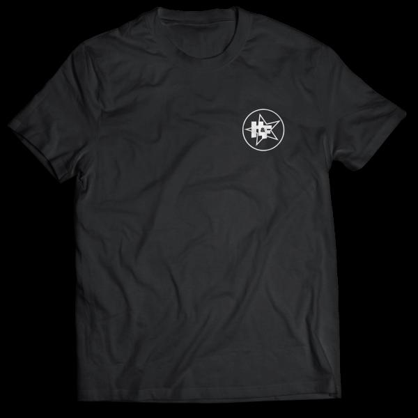 Harris & Ford - T-Shirt - Stern-Kreis Logo [schwarz]
