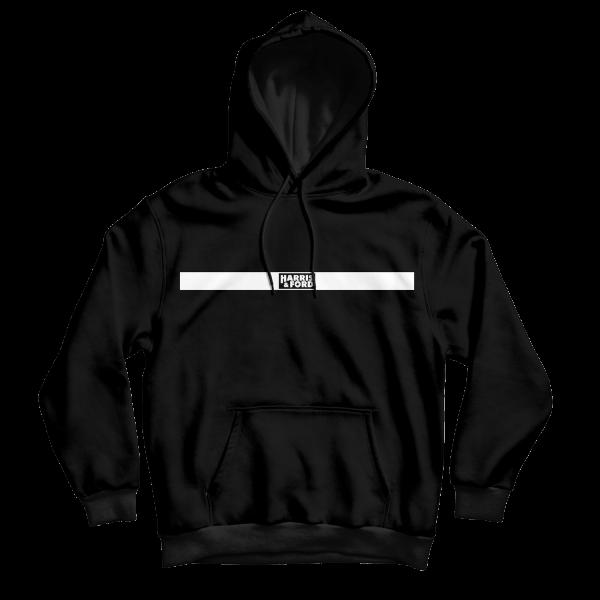Harris & Ford - Hoodie - Logo Balken [schwarz]