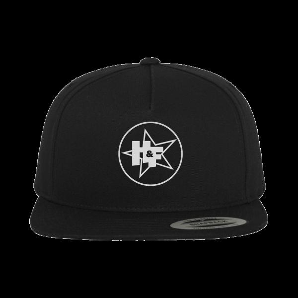 Harris & Ford - Snapback - H&F Stern Logo [schwarz]